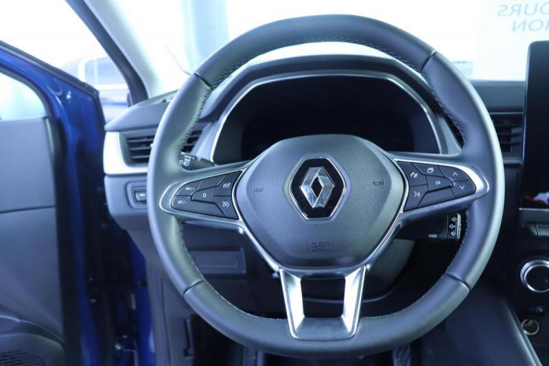 Renault Captur INTENS PLUG IN HYBRID E- TECH 160CH BVA Bleu occasion à Semécourt - photo n°10