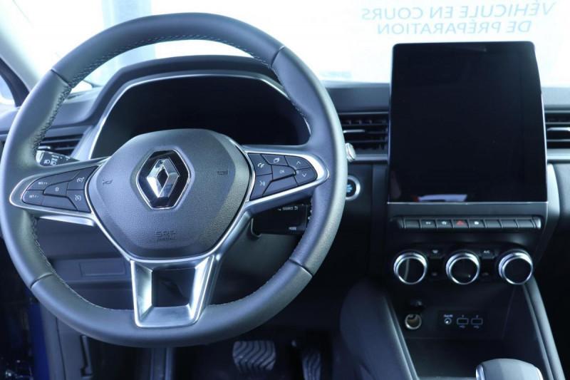 Renault Captur INTENS PLUG IN HYBRID E- TECH 160CH BVA Bleu occasion à Semécourt - photo n°4