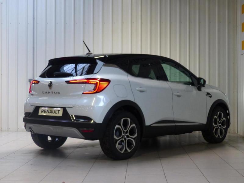 Renault Captur Intens TCe 90 Blanc occasion à MORLAIX - photo n°3