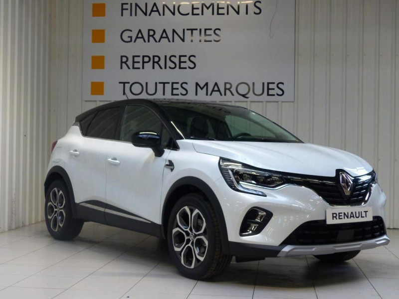 Renault Captur Intens TCe 90 Blanc occasion à MORLAIX - photo n°2
