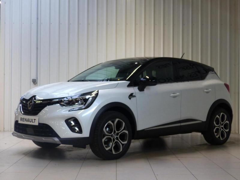 Renault Captur Intens TCe 90 Blanc occasion à MORLAIX