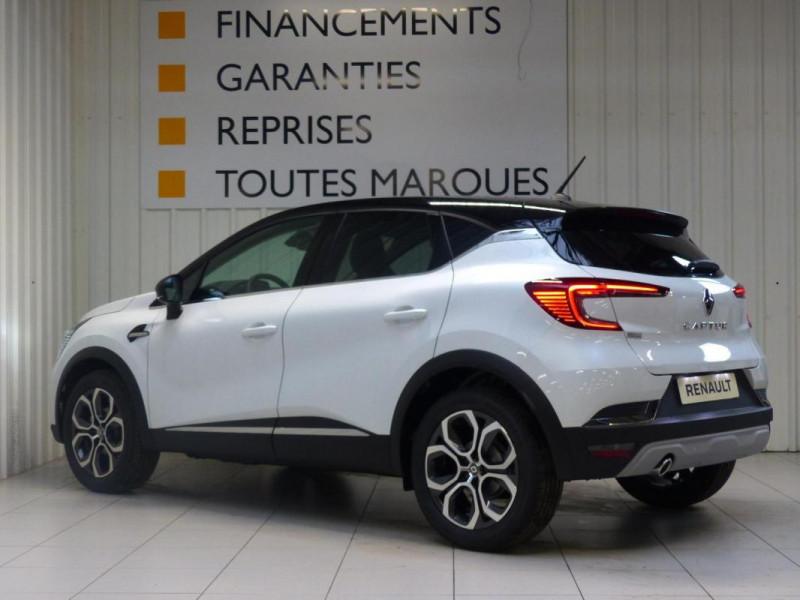 Renault Captur Intens TCe 90 Blanc occasion à MORLAIX - photo n°4