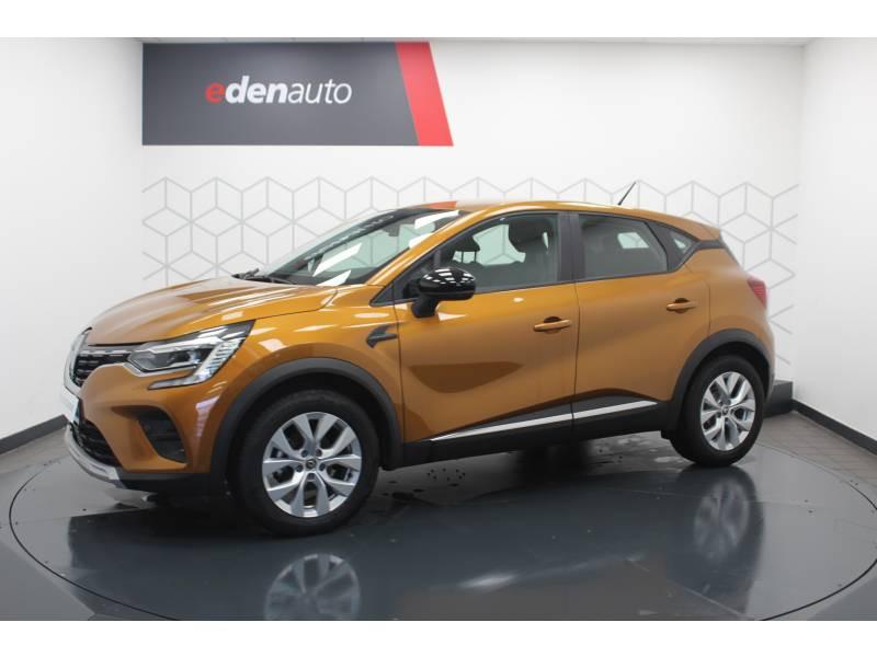 Renault Captur TCe 100 Business Orange occasion à DAX - photo n°14