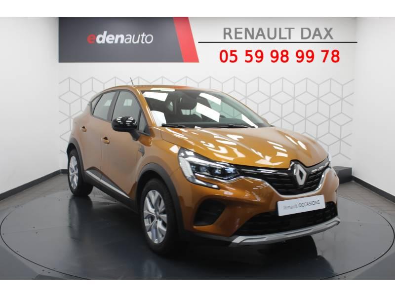 Renault Captur TCe 100 Business Orange occasion à DAX