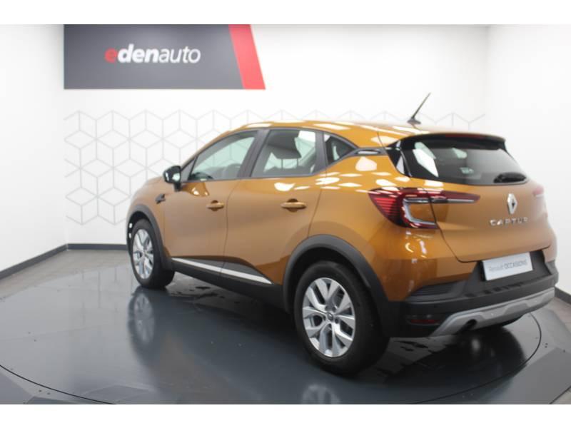 Renault Captur TCe 100 Business Orange occasion à DAX - photo n°11
