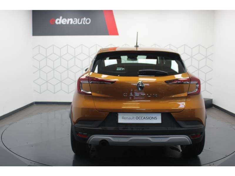 Renault Captur TCe 100 Business Orange occasion à DAX - photo n°10