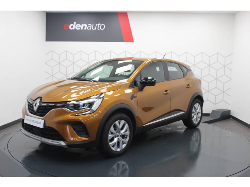 Renault Captur TCe 100 Business Orange occasion à DAX - photo n°15