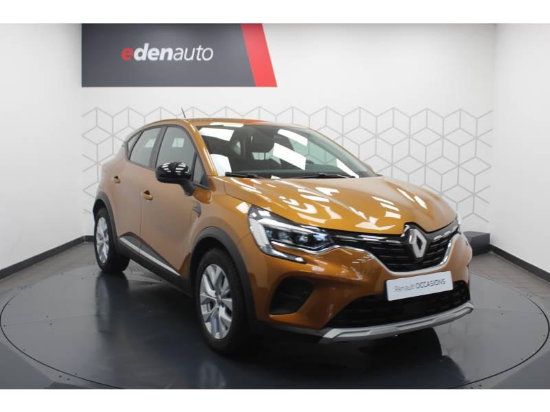 Renault Captur TCe 100 Business Orange occasion à DAX - photo n°17