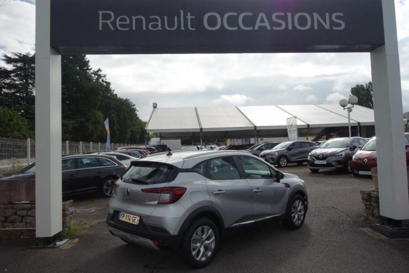 Renault Captur TCe 100 Business Gris occasion à PLOERMEL - photo n°3