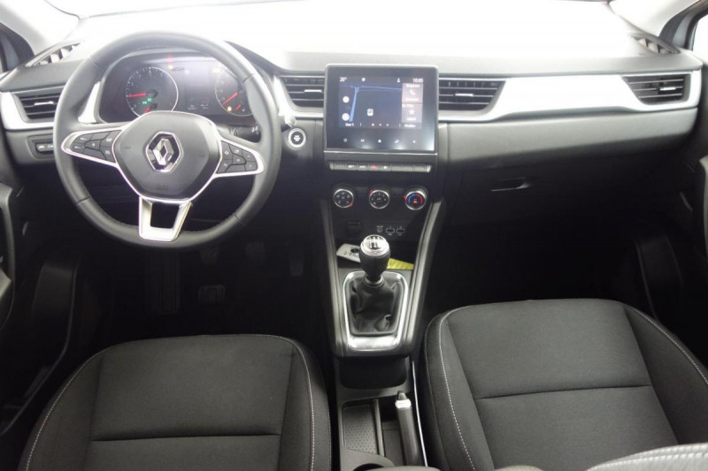 Renault Captur TCe 100 Business Gris occasion à PLOERMEL - photo n°5
