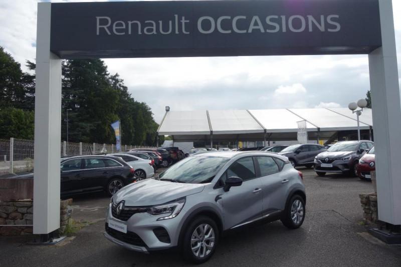 Renault Captur TCe 100 Business Gris occasion à PLOERMEL