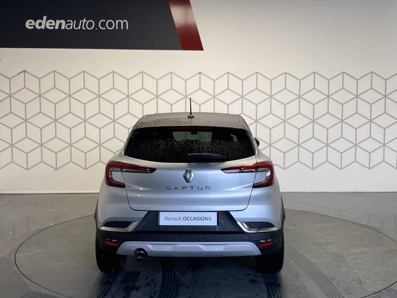 Renault Captur TCe 100 Intens Gris occasion à TARBES - photo n°4