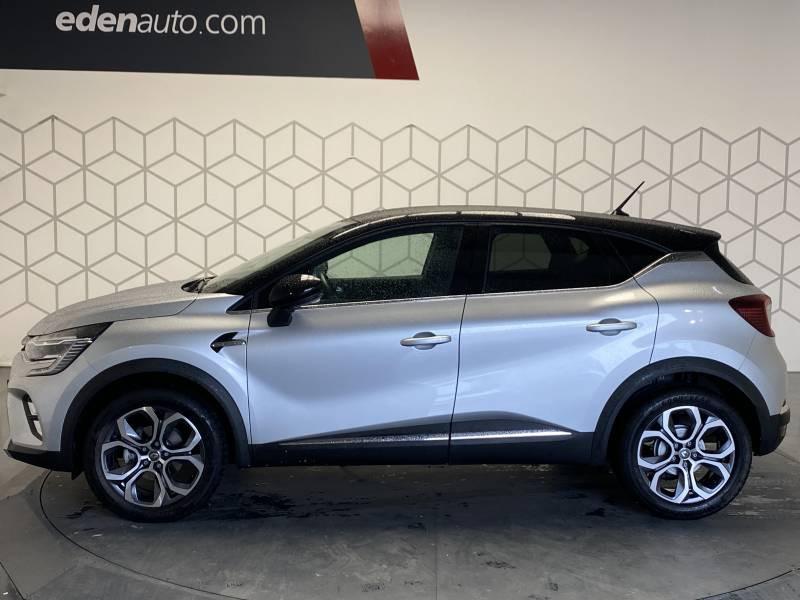 Renault Captur TCe 100 Intens Gris occasion à TARBES - photo n°3