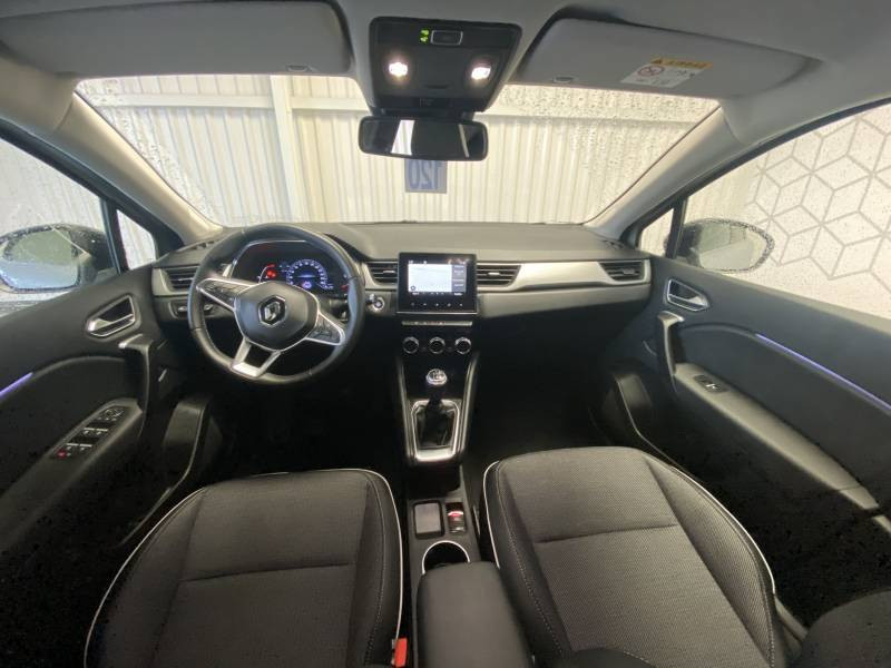 Renault Captur TCe 100 Intens Gris occasion à TARBES - photo n°8