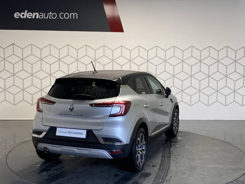 Renault Captur TCe 100 Intens Gris occasion à TARBES - photo n°10