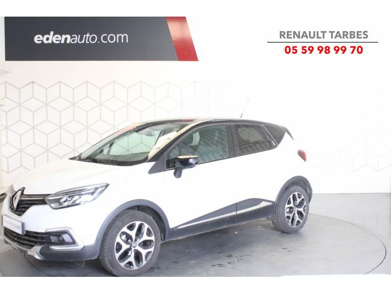 Renault Captur TCe 120 Energy EDC Intens Blanc occasion à TARBES