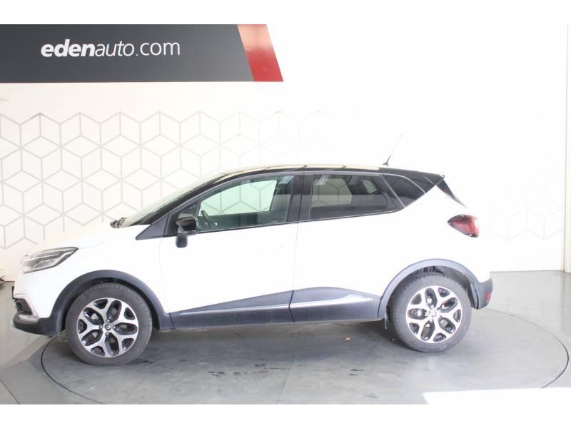 Renault Captur TCe 120 Energy EDC Intens Blanc occasion à TARBES - photo n°3
