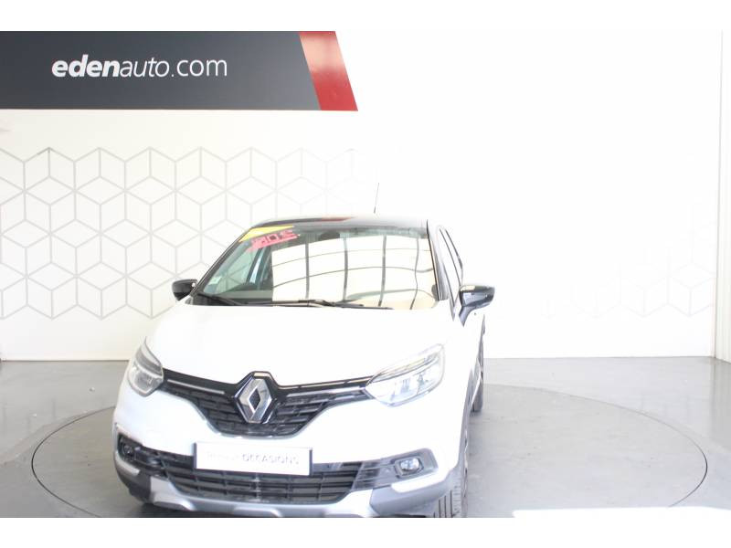 Renault Captur TCe 120 Energy EDC Intens Blanc occasion à TARBES - photo n°2