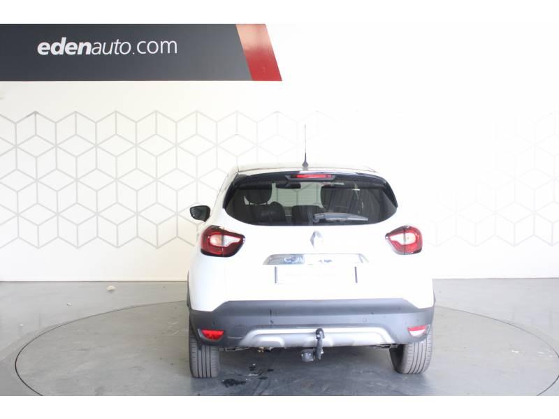Renault Captur TCe 120 Energy EDC Intens Blanc occasion à TARBES - photo n°4
