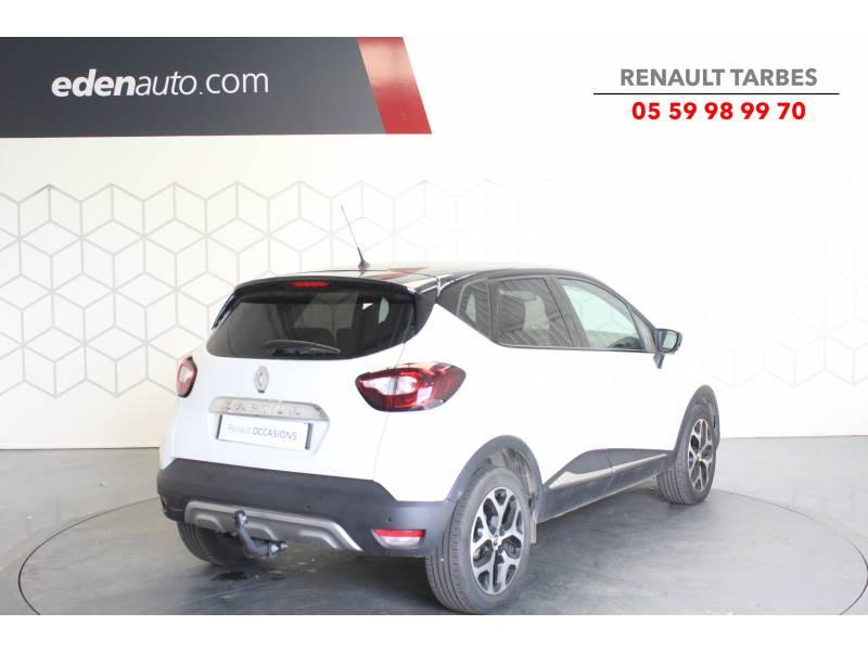 Renault Captur TCe 120 Energy EDC Intens Blanc occasion à TARBES - photo n°5