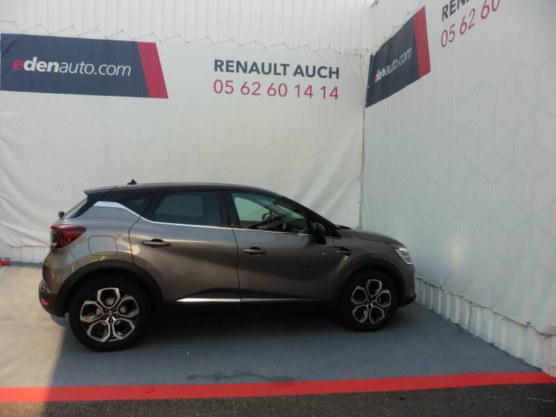 Renault Captur TCe 130 EDC FAP Intens Gris occasion à L'Isle-Jourdain - photo n°3