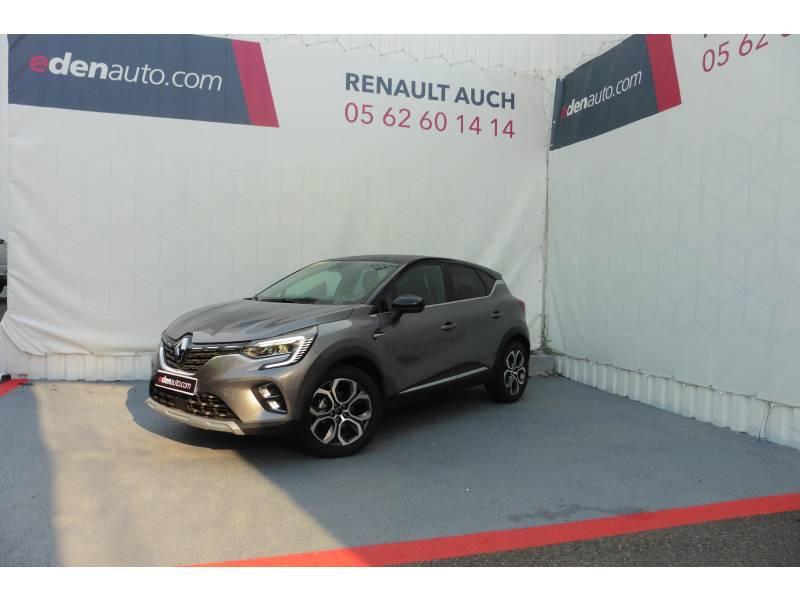 Renault Captur TCe 130 EDC FAP Intens Gris occasion à L'Isle-Jourdain