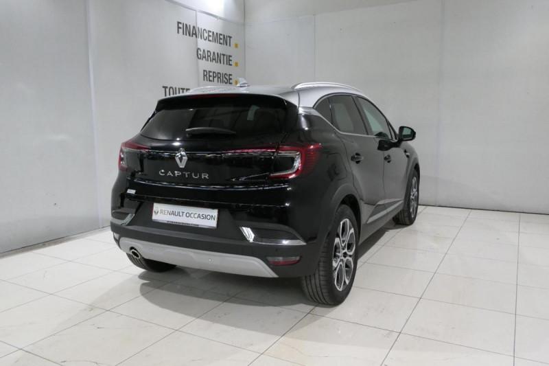 Renault Captur TCe 130 FAP Intens Noir occasion à LANNION - photo n°3