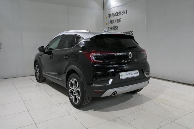 Renault Captur TCe 130 FAP Intens Noir occasion à LANNION - photo n°4