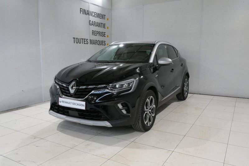 Renault Captur TCe 130 FAP Intens Noir occasion à LANNION