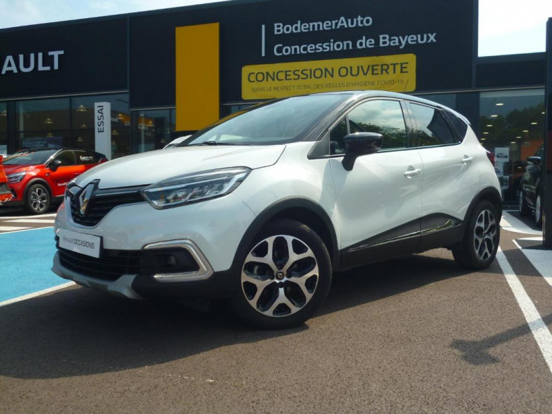 Renault Captur TCe 130 FAP Intens Blanc occasion à BAYEUX