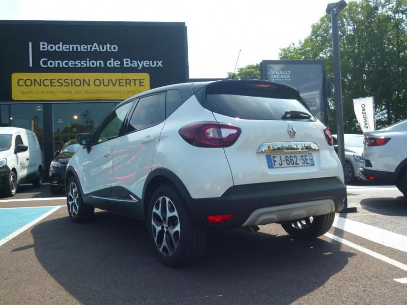 Renault Captur TCe 130 FAP Intens Blanc occasion à BAYEUX - photo n°4