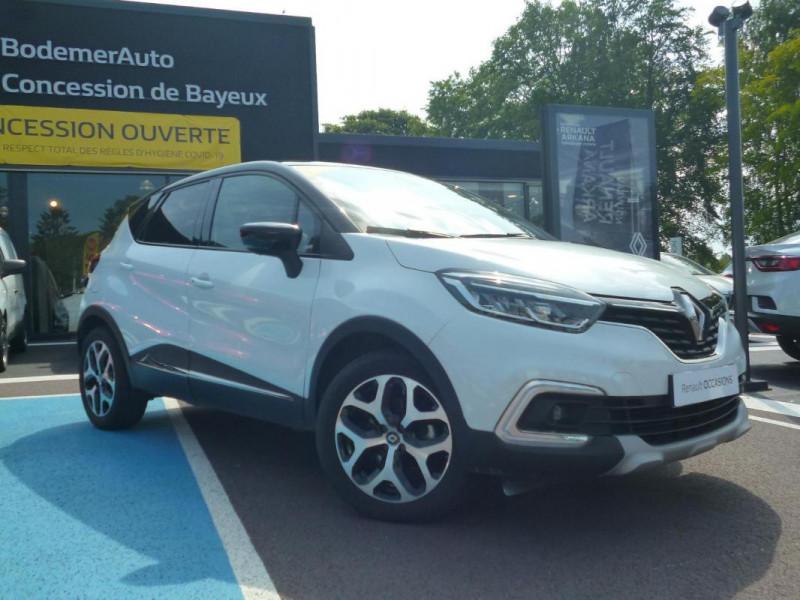 Renault Captur TCe 130 FAP Intens Blanc occasion à BAYEUX - photo n°2