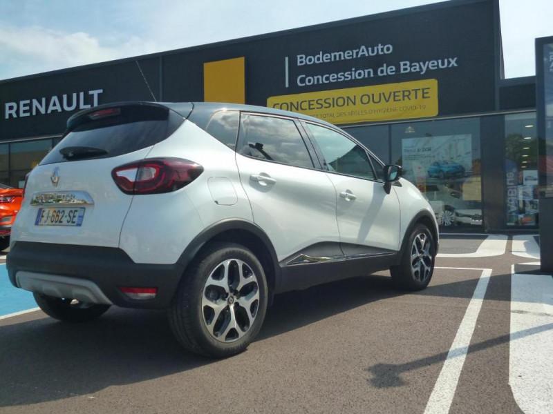 Renault Captur TCe 130 FAP Intens Blanc occasion à BAYEUX - photo n°3