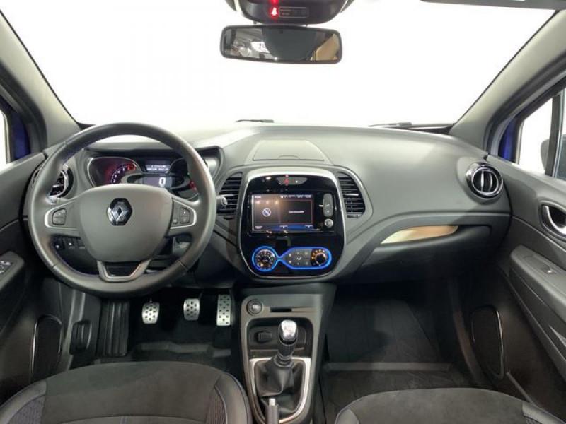 Renault Captur TCE 150  INTENS VERSION S Bleu occasion à Verfeil - photo n°2