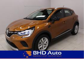Renault Captur TCE 90 - 21 ZEN CLIMATISATION AUTOMATIQUE + EASY LINK Orange occasion à Biganos - photo n°1