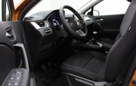 Renault Captur TCE 90 - 21 ZEN CLIMATISATION AUTOMATIQUE + EASY LINK Orange occasion à Biganos - photo n°2
