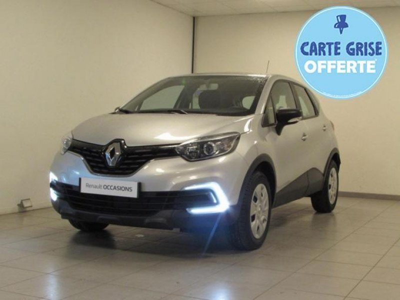 Renault Captur TCe 90 Life Gris occasion à VALFRAMBERT