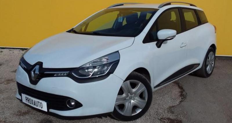Renault Clio Estate IV ESTATE BUSINESS dCi 90 Energy eco2 82g Blanc occasion à Fontenay-le-vicomte