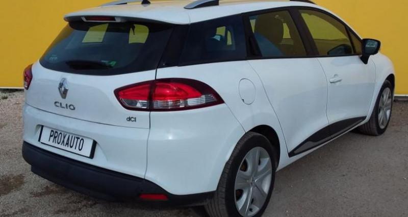 Renault Clio Estate IV ESTATE BUSINESS dCi 90 Energy eco2 82g Blanc occasion à Fontenay-le-vicomte - photo n°4