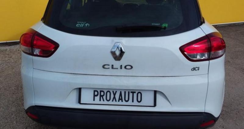 Renault Clio Estate IV ESTATE BUSINESS dCi 90 Energy eco2 82g Blanc occasion à Fontenay-le-vicomte - photo n°5