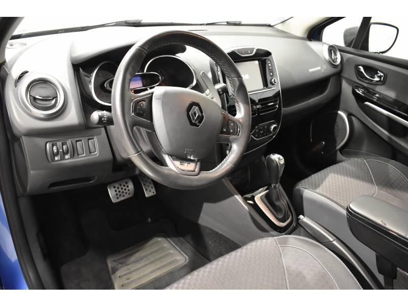 Renault Clio Estate IV ESTATE TCe 120 GT EDC Bleu occasion à Limoges - photo n°6