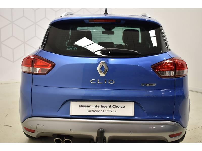 Renault Clio Estate IV ESTATE TCe 120 GT EDC Bleu occasion à Limoges - photo n°14