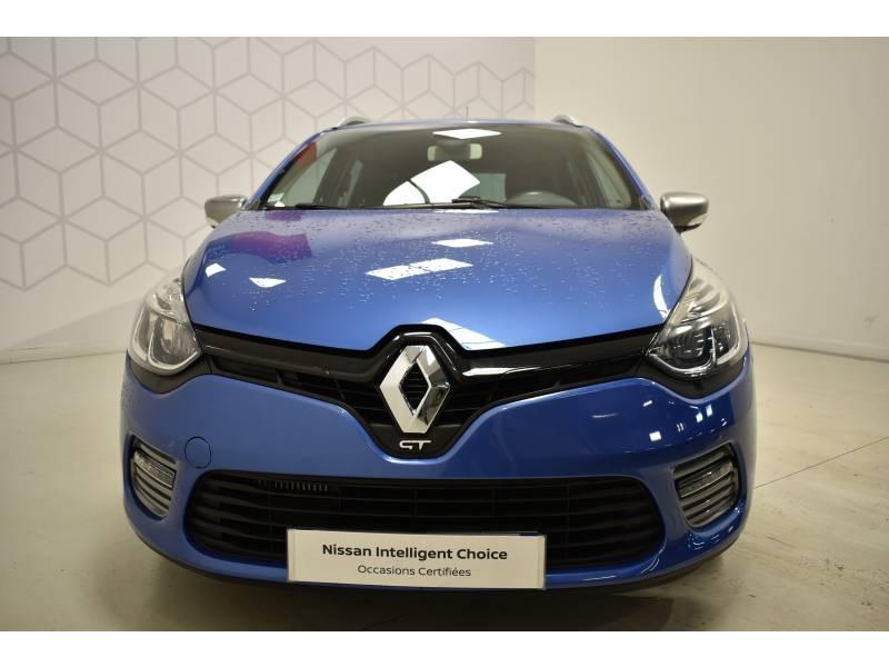 Renault Clio Estate IV ESTATE TCe 120 GT EDC Bleu occasion à Limoges - photo n°2