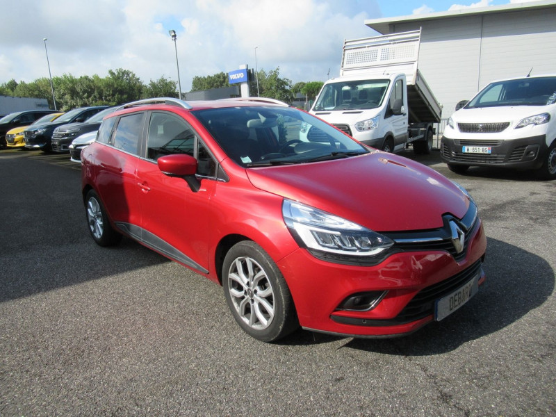 Renault Clio IV 1.5 DCI 90CH ENERGY INTENS EURO6C Rouge occasion à Labège - photo n°8
