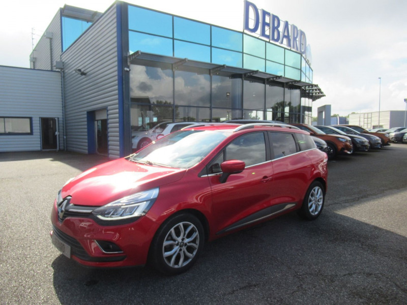 Renault Clio IV 1.5 DCI 90CH ENERGY INTENS EURO6C Rouge occasion à Labège - photo n°5