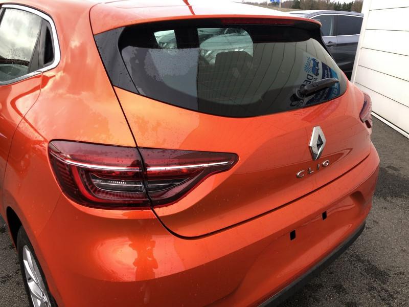 Renault Clio V 1.0 TCE 90CH INTENS E6D-FULL Orange occasion à Saint-Saturnin - photo n°6