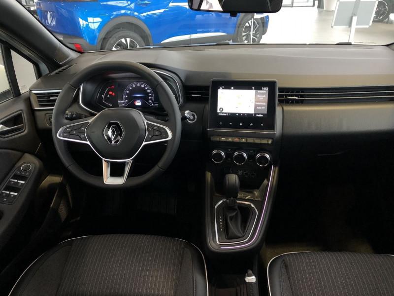 Renault Clio V 1.0 TCE 90CH INTENS X-TRONIC -21 Blanc occasion à Mérignac - photo n°8