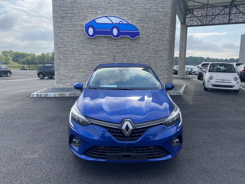 Renault Clio V 1.0 TCE 90CH INTENS X-TRONIC -21 Bleu occasion à Mées - photo n°8