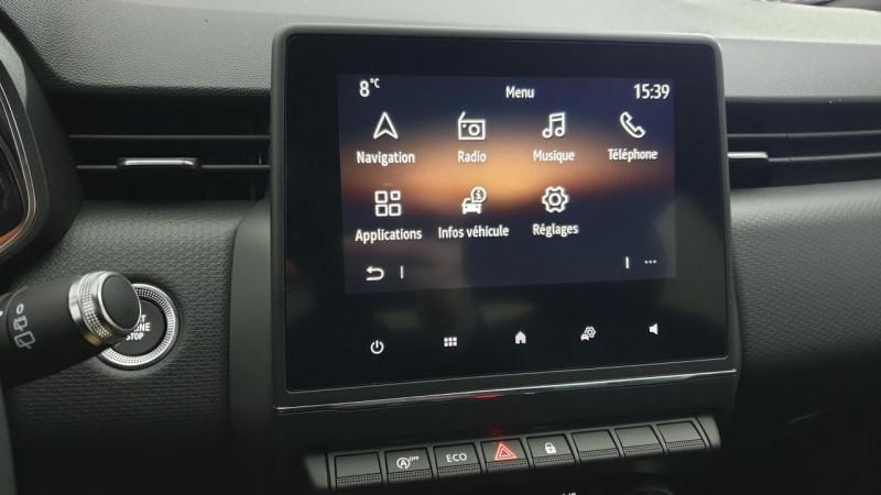 Renault Clio V 1.0 tce 90cv bvm6 intens Gris occasion à Ganges - photo n°15