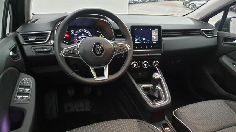 Renault Clio V 1.0 tce 90cv bvm6 intens Gris occasion à Ganges - photo n°9
